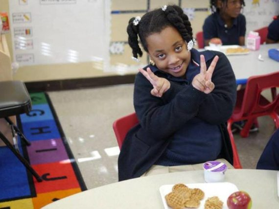 How are communities responding to childhood hunger?