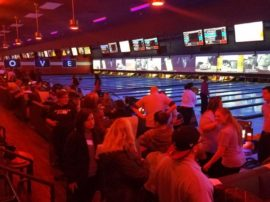 75 members attend Central Connection's first bowling event