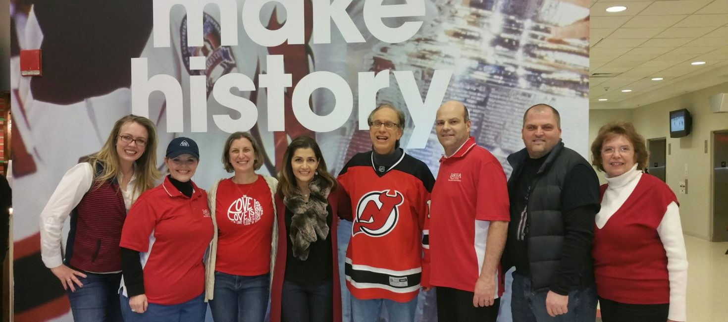 NJ Devils honor state teacher of the year