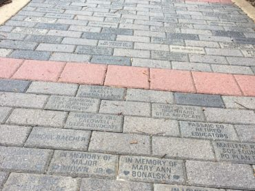 Purchase an engraved brick paver