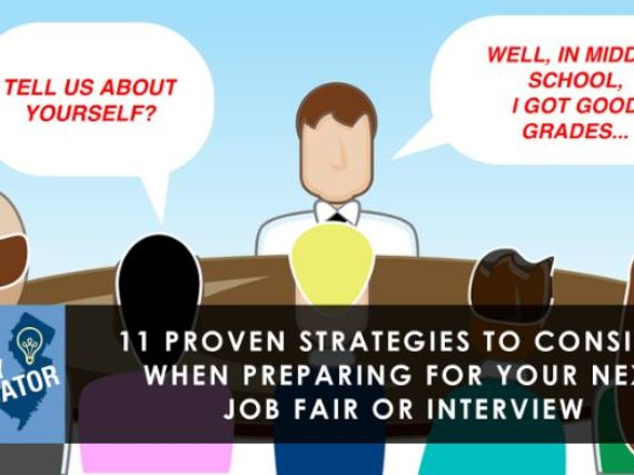 Proven interview/job fair strategies