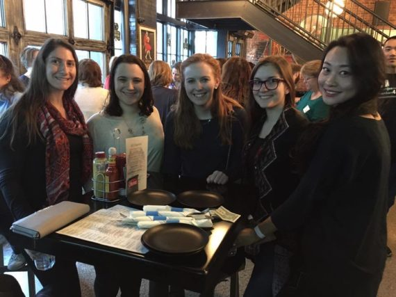 Early career members organize city crawl, bowling to engage members