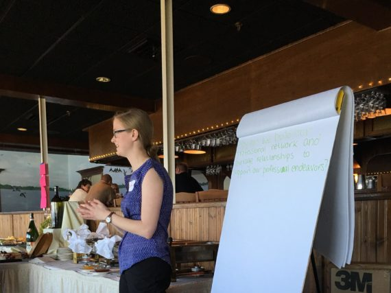 Salem County hosts World Cafe for early career members