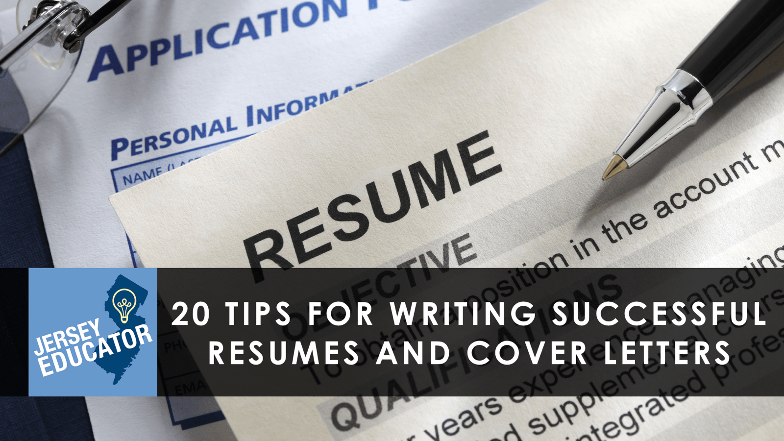 20 Tips For Writing Successful Resumes And Cover Letters New