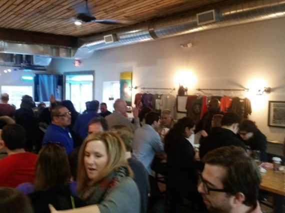 Swipe Right for Your Union Night draws 60 members to Hackensack