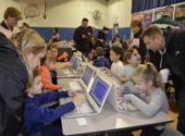 "Serving up ""Cookies and Chrome"" highlights use of technology in first grade"