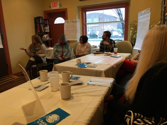 Coffee and Convo III draws members from South Jersey