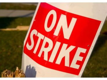 NJEA stands with striking AT&T workers
