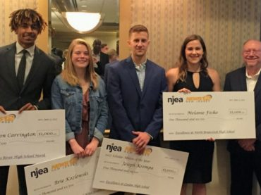 NJEA, News 12 honor scholar athletes