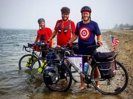 Belvidere teacher completes cross-county bike ride for cancer research