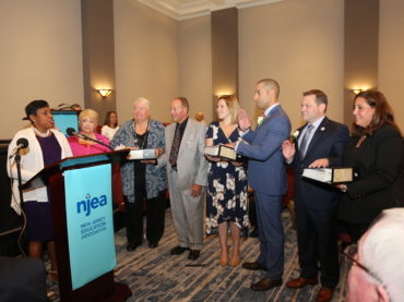 NJEA inducts new officers