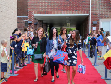 Collingswood parents give teachers red-carpet treatment