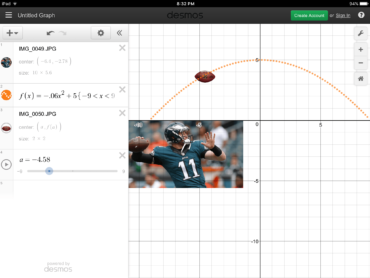 Desmos graphing calculator enhances your math instruction