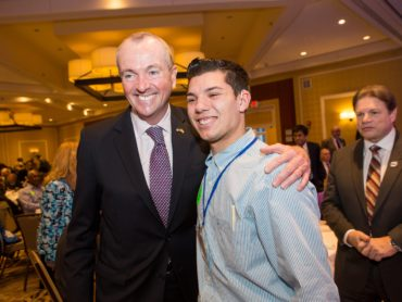 Phil Murphy supports preservice educators