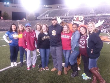 NJ County Teachers of the Year honored at Princeton University football game