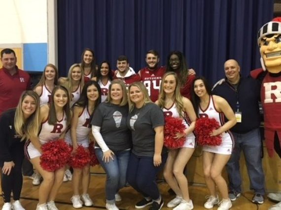 Fairfield school wins Rutgers Pep Rally