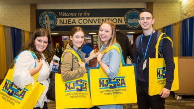 A preservice member's view of the NJEA Convention