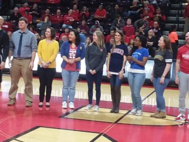 NJ County Teachers of the Year honored at Rutgers University basketball game