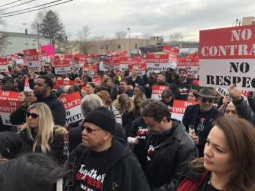 Thousands in Paterson rally for settlement