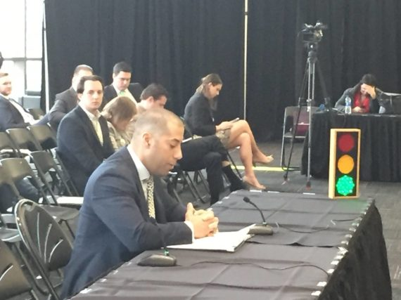 Spiller, Beatty present NJEA testimony on proposed state budget