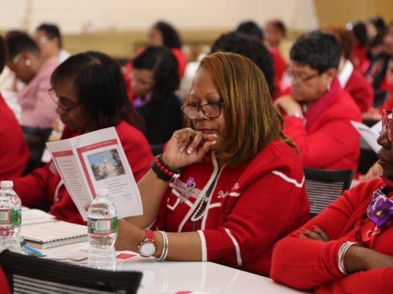 NJEA hosts Delta Sigma Theta Sorority, Inc. for Delta Day at the Statehouse