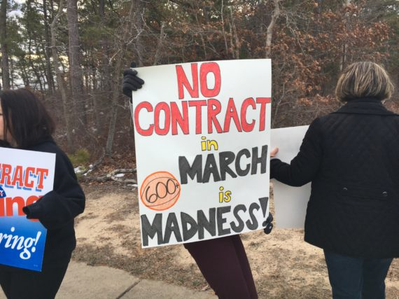 Stafford Township EA stands strong to settle fair contract