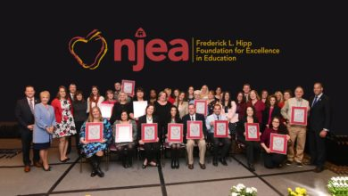NJEA Frederick L. Hipp Foundation for Excellence in Education announces more than $97,000 in grants