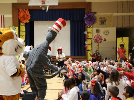 Celebrate literacy with the Cat in the Hat