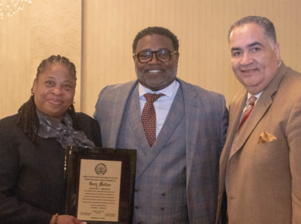 NJEA staffer Gary Melton honored by Vineland Chapter of the NAACP