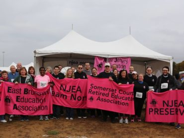 Join Team NJEA for the More Than Pink Walk
