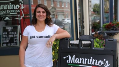 From Pizzatown USA to the Cannoli Express, community college put her career on the move