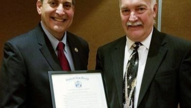 ESP activist recognized by the NJ Legislature