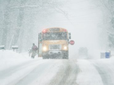 Students snowed in, educators step up