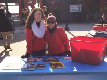NJEA Preservice holds Rutgers football book drive