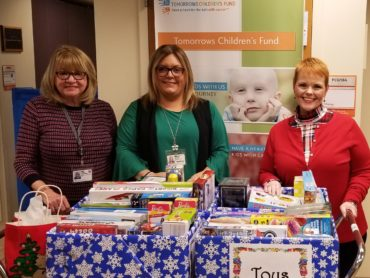 BCEA donates toys to Tomorrow's Children's Fund