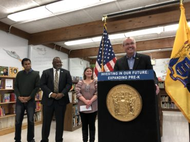 Governor pledges to increase pre-K funding