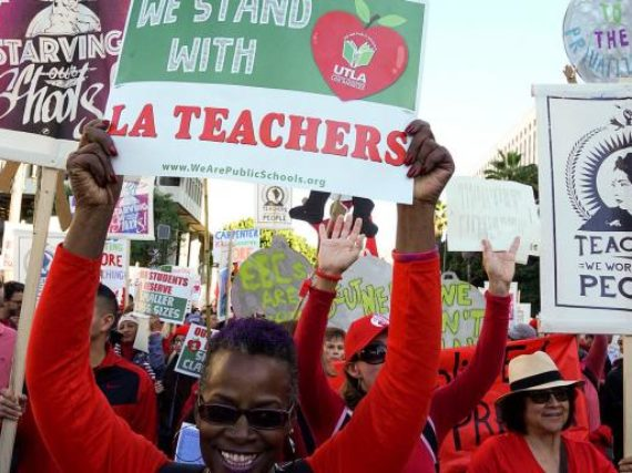 NJEA stands with UTLA
