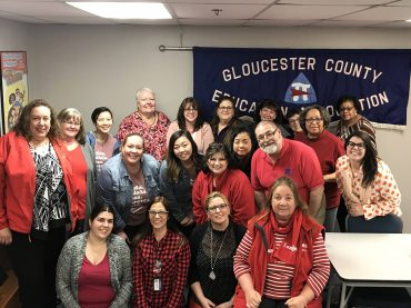Gloucester County Education Association celebrates Women's History Month