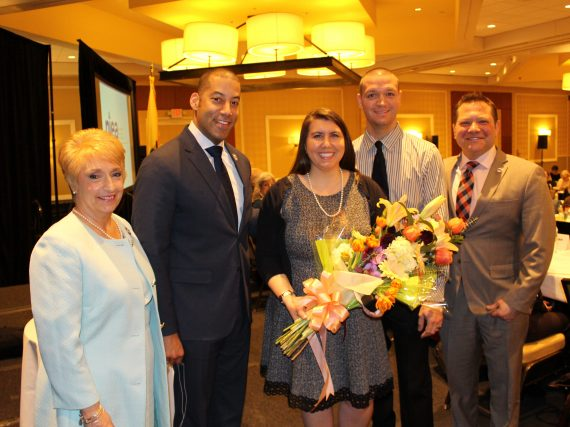 Teacher of the Year honored at Delegate Assembly