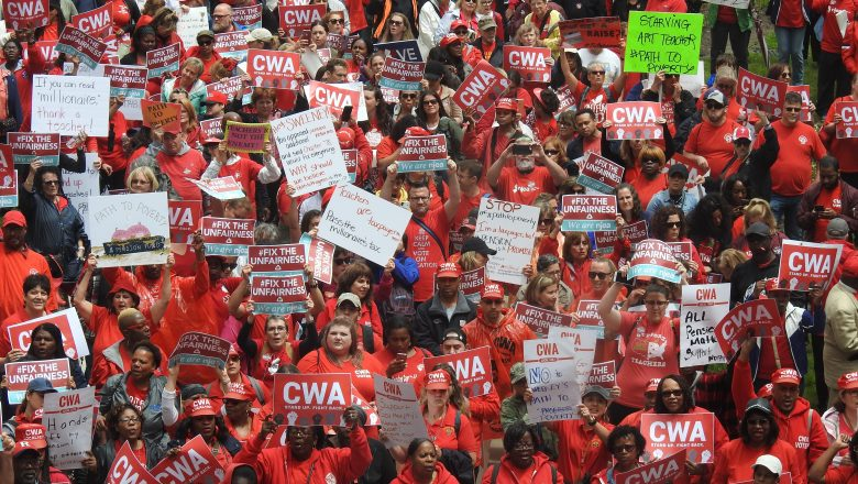 NJEA, CWA unite to advocate for public employees