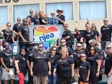 NJEA supports Pride Parade