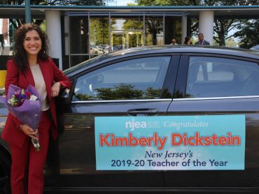 Camden County high school English teacher honored as New Jersey State Teacher of the Year 2019-20