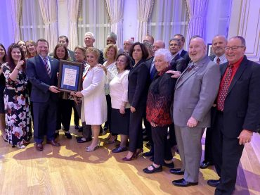 NJEA officers honored with advocacy award