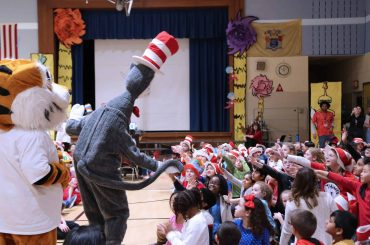 Hosting a Visit from NJEA's Cat in the Hat