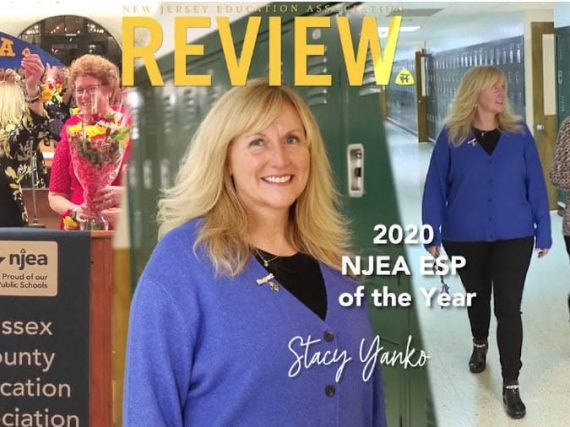 Meet Stacy Yanko, NJEA 2020 Educational Support Professional of the Year