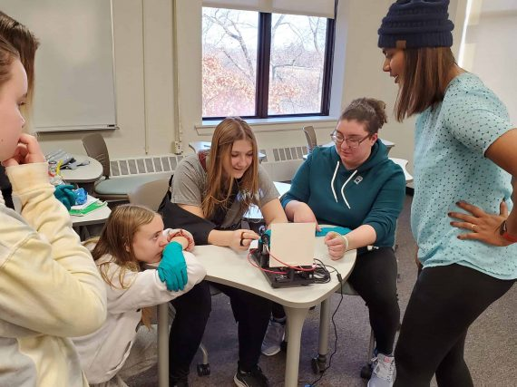 Sussex County College hosts Women in STEM Career Day