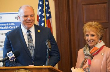 NJEA, Sweeney announce landmark agreement on Ch. 78 relief, ESP Job Justice