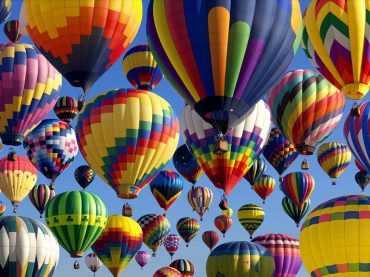 Essay contest offers students chance win a ride in a hot air balloon at school and festival