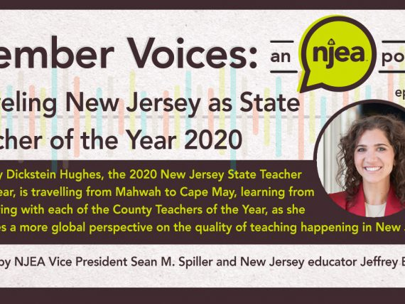 Traveling New Jersey as State Teacher of the Year 2020
