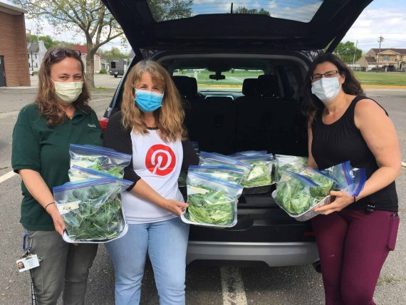 Hazlet educators use school project to grow, donate produce to community